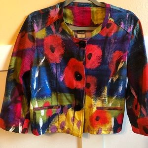 Simply Art by Dolcezza jacket stretch large